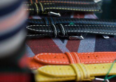 cinturini classici in pelle colorati