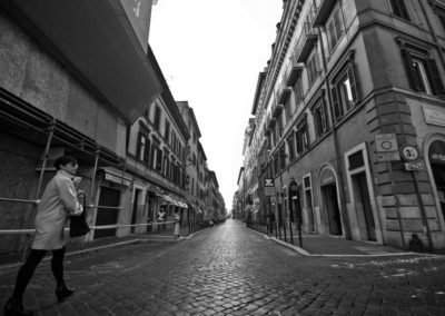 Via dell'Oca inzio strada