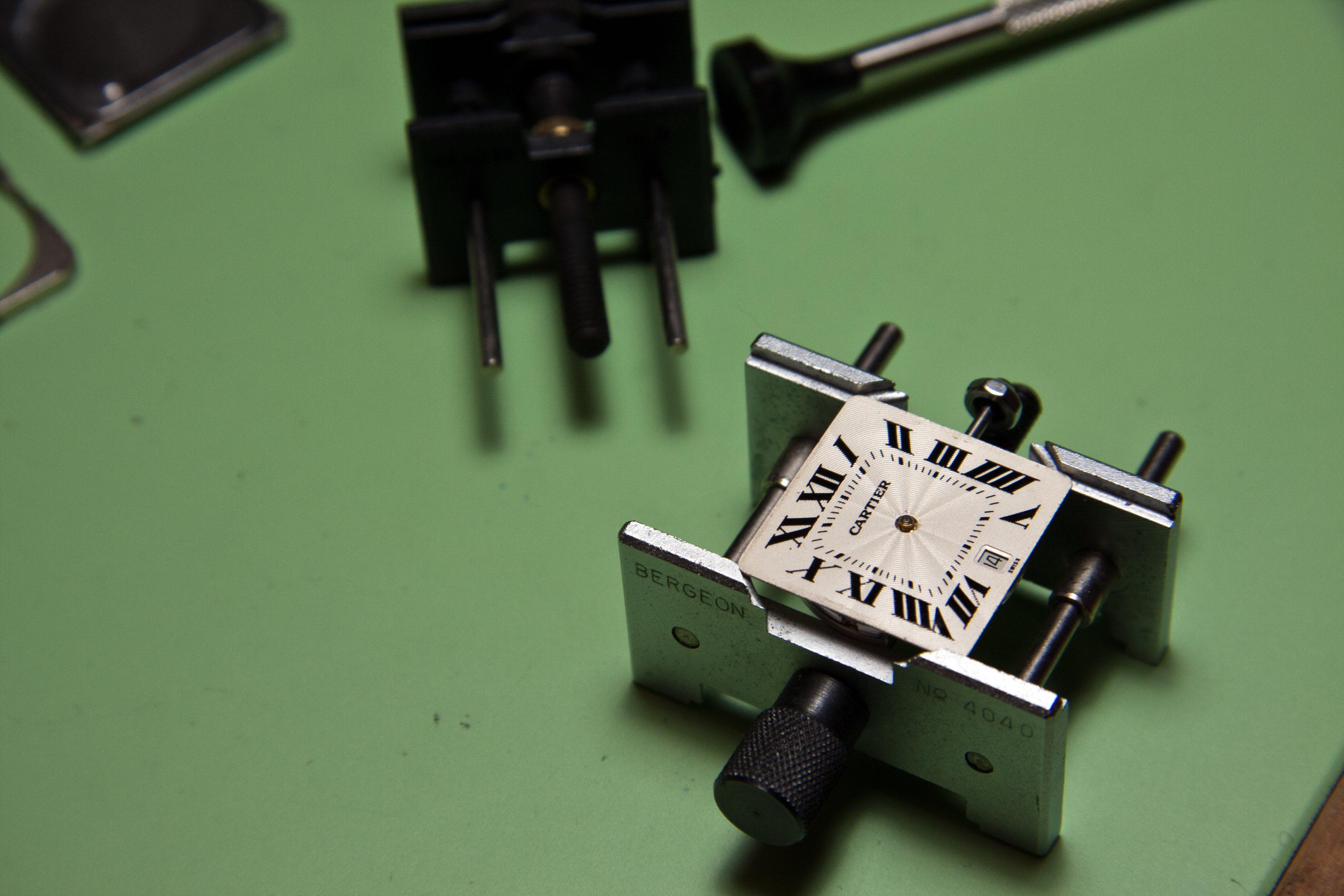 riparazione orologio cartier 1