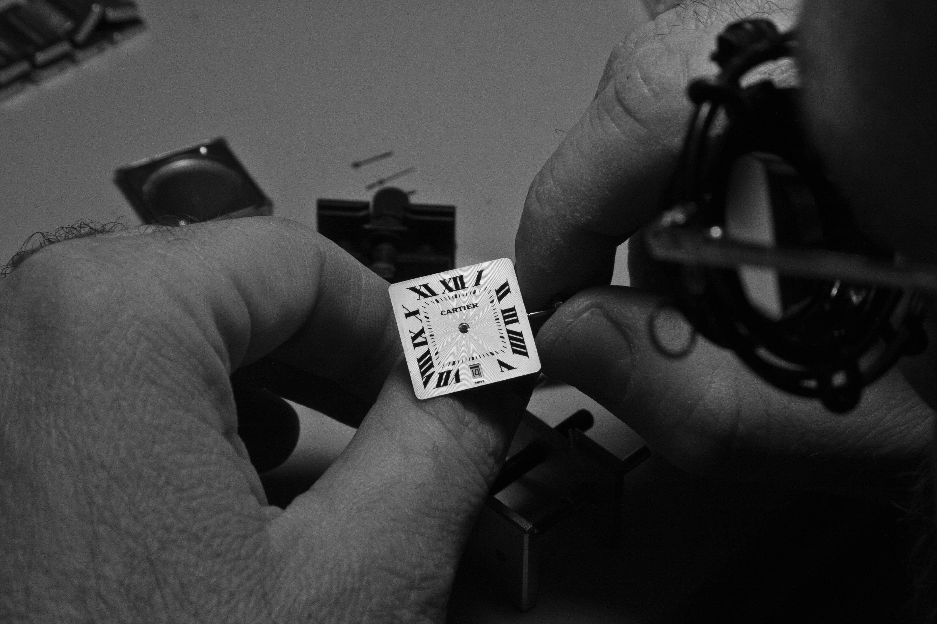 Riparazione orologio cartier