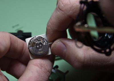 orologio cartier in riparazione