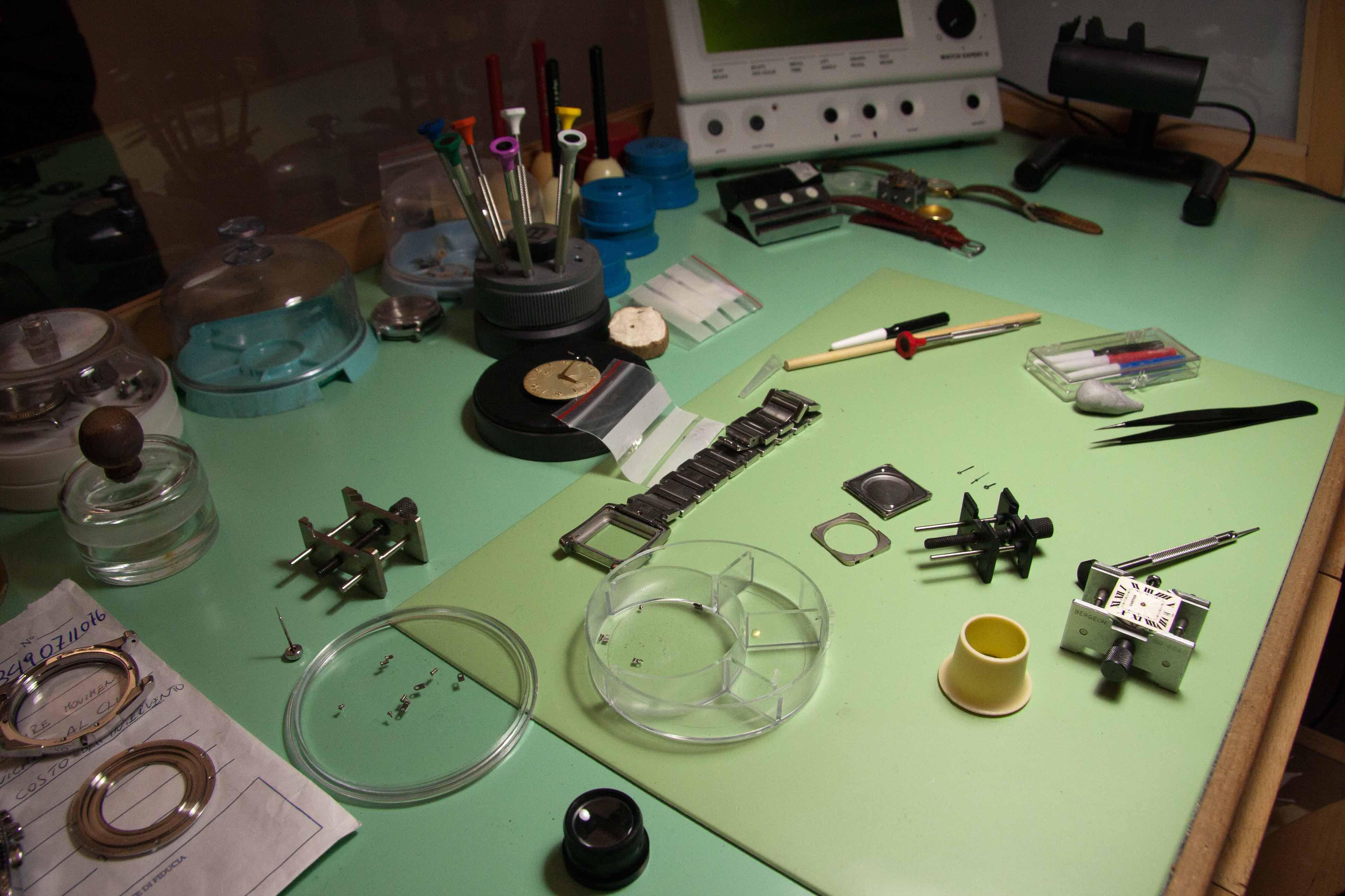 laboratorio e riparazioni