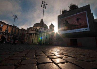 Piazza del popolo veduta
