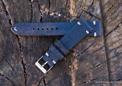 Cinturin o Vintage 2 pezzi  in Crosta nero