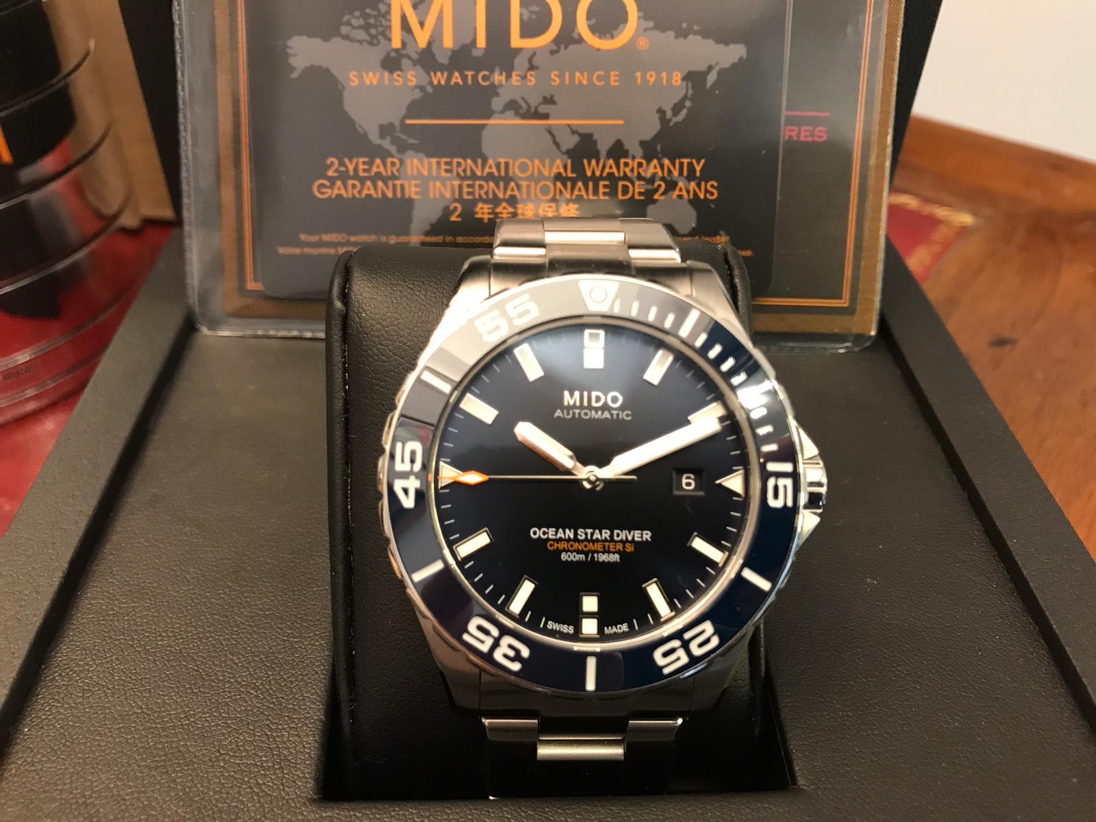 Mido Diver 1