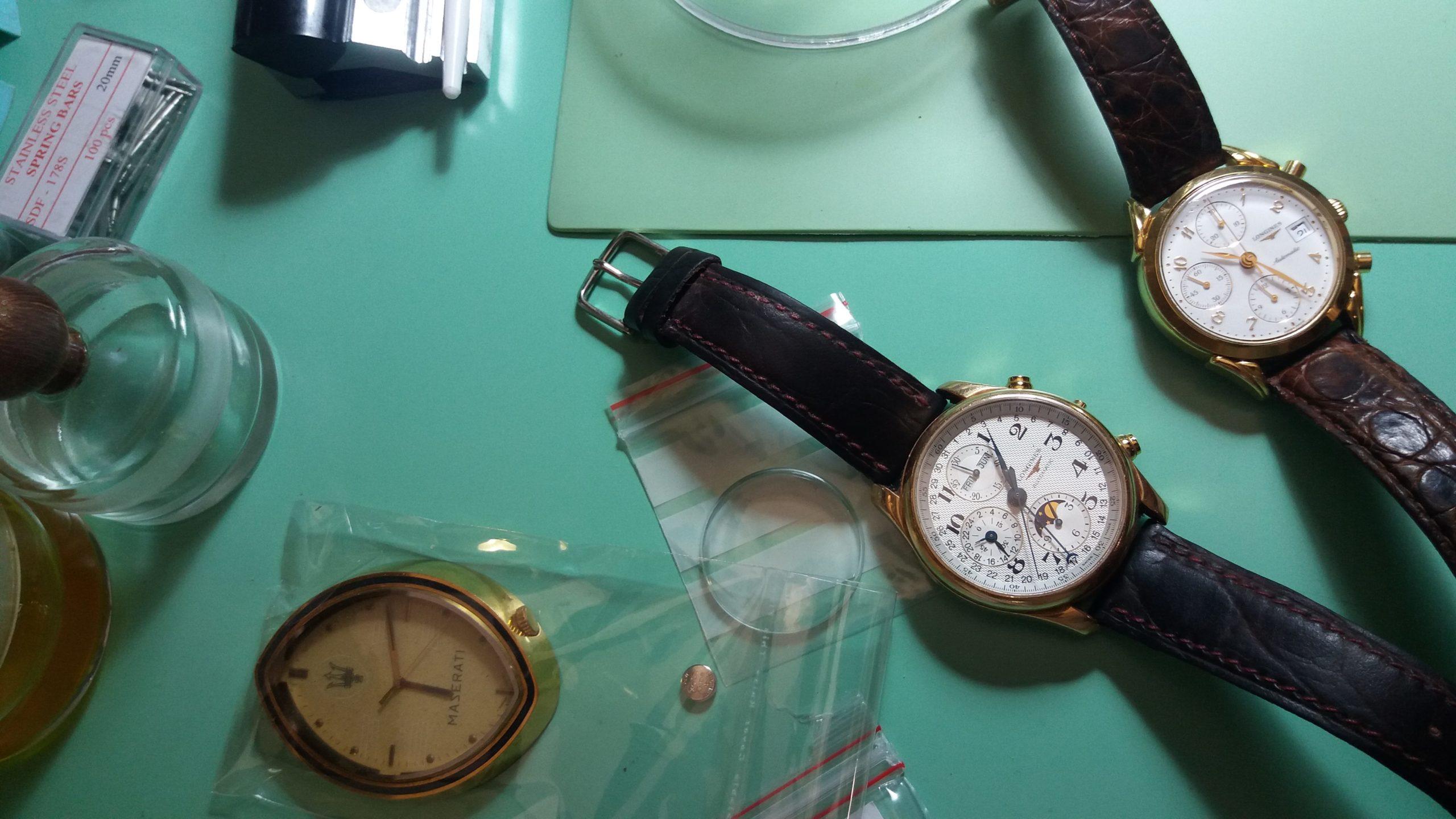 orologi in riparazione