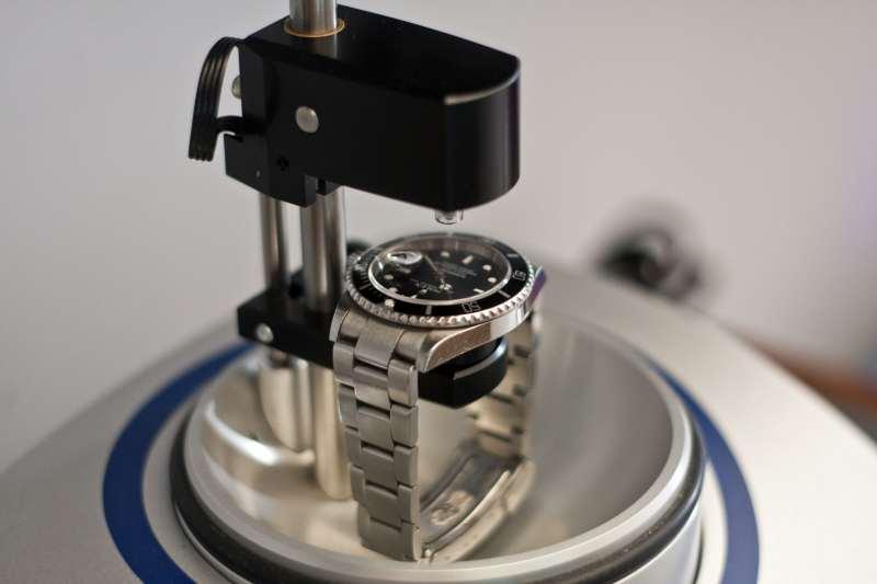 test-sottovuoto-orologio