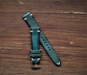 Cinturino artigianale 2 pezzi blue