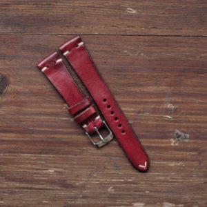 Cinturino artigianale 2 pezzi rosso