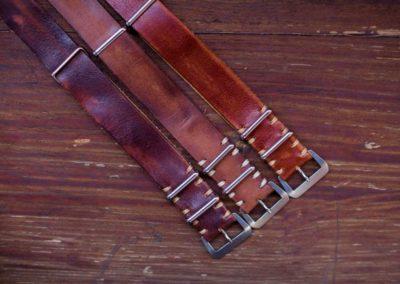 cinturini nato vintage ruggine e varianti