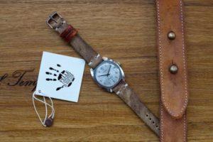 cinturino vacchetta ruvida vintage 1