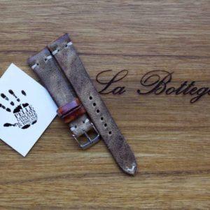 cinturino vacchetta ruvida vintage