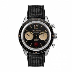 Echo-Neutra-cortina 1956-cronografo-nero